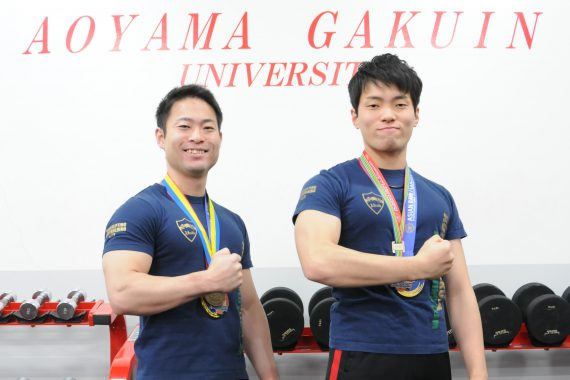 King of Muscle -二人の世界王者- -パワーリフティング〈大学・佐竹 優典さん、木内 陽介さん〉