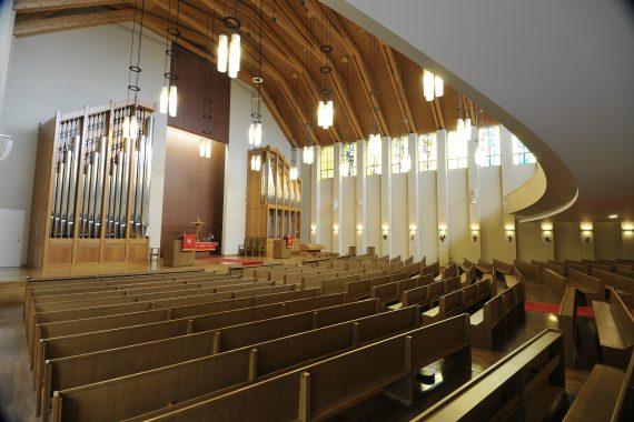 青山学院の礼拝堂〈2〉 初等部 米山記念礼拝堂
