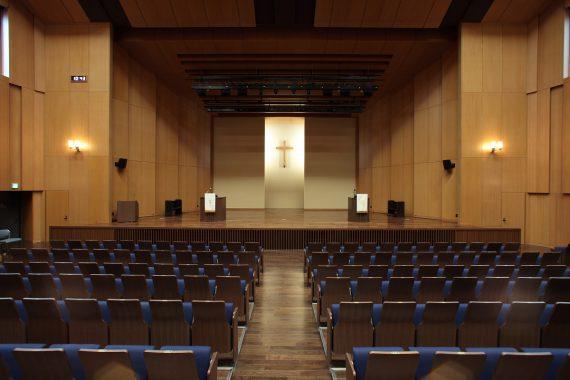 青山学院の礼拝堂〈3〉 高等部 PS講堂