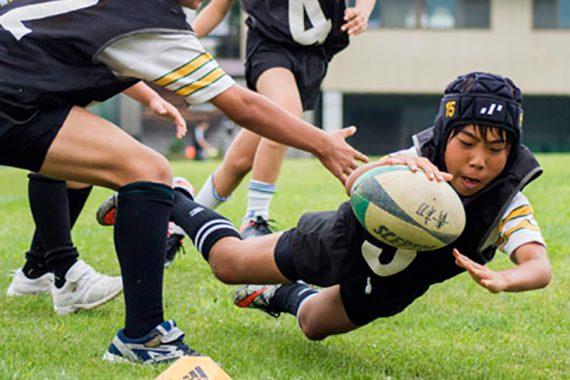日本最古の小学校ラグビーチーム 青山学院初等部「コアラーズ」
