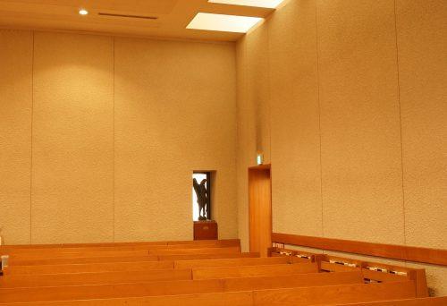 短大礼拝堂入口