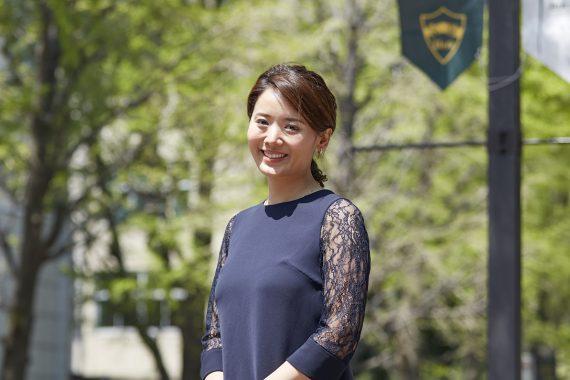 可能性を信じ外交官に 日本と世界の架け橋に〈卒業生・島根 玲子さん〉