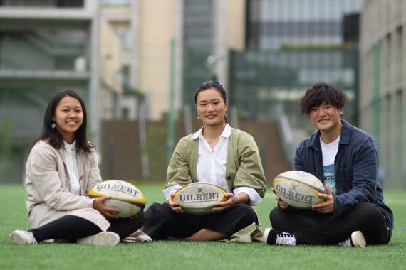 2021女子ラグビーワールドカップ出場を目指して  青山学院大学のラガールたち