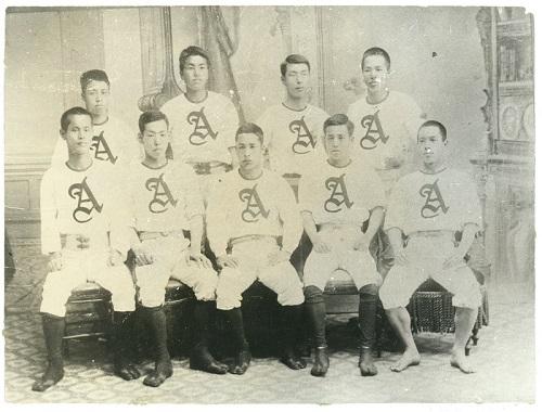 野球チームのユニフォーム