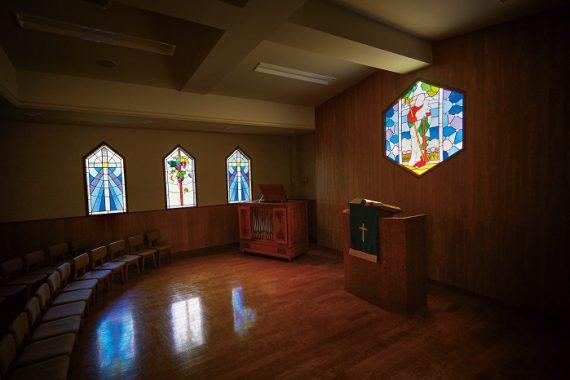 青山学院のステンドグラス〈1〉 幼稚園