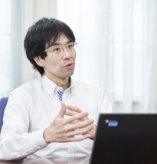 高等部佐藤健悟教諭(コロナとの闘い座談会 青山学院)