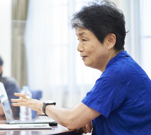 女子短期大学趙慶姫 教授(コロナとの闘い座談会 青山学院)