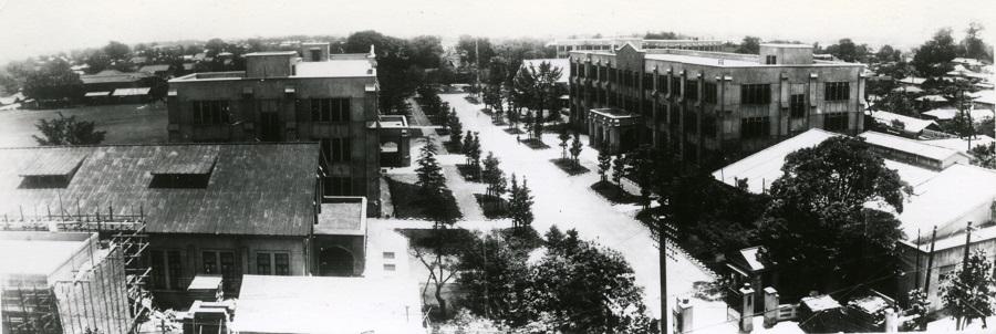 1926年頃に撮影された構内の写真