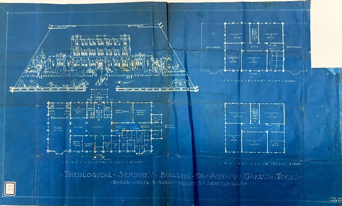 ベリーホールの設計図1