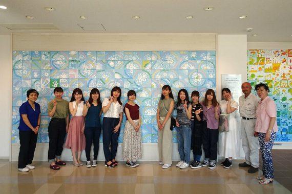 現地、そしてオンラインでのボランティア活動〈女子短期大学Blue Bird〉