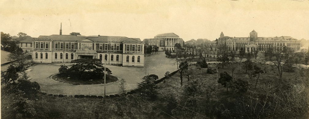 1920年頃の構内風景